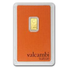 1 gram Gold Bar - Valcambi (In Assay) #PAPPS75123