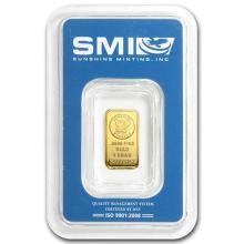 1 gram Gold Bar - Sunshine Minting New Design (In TEP Packaging) #PAPPS75127