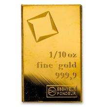1/10 oz Gold Bar - Secondary Market #PAPPS75121