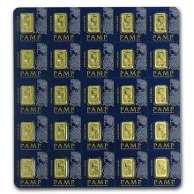 25x1 gram Gold Bar PAMP Suisse Multigram+25 (In Assay) #PAPPS75120