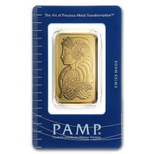 1 oz Gold Bar - PAMP Suisse Lady Fortuna (In Assay) #PAPPS75113