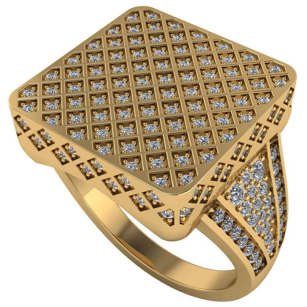 Certified 2.00 CTW Round Diamond 14K Yellow Gold Ring #PAPPS91979