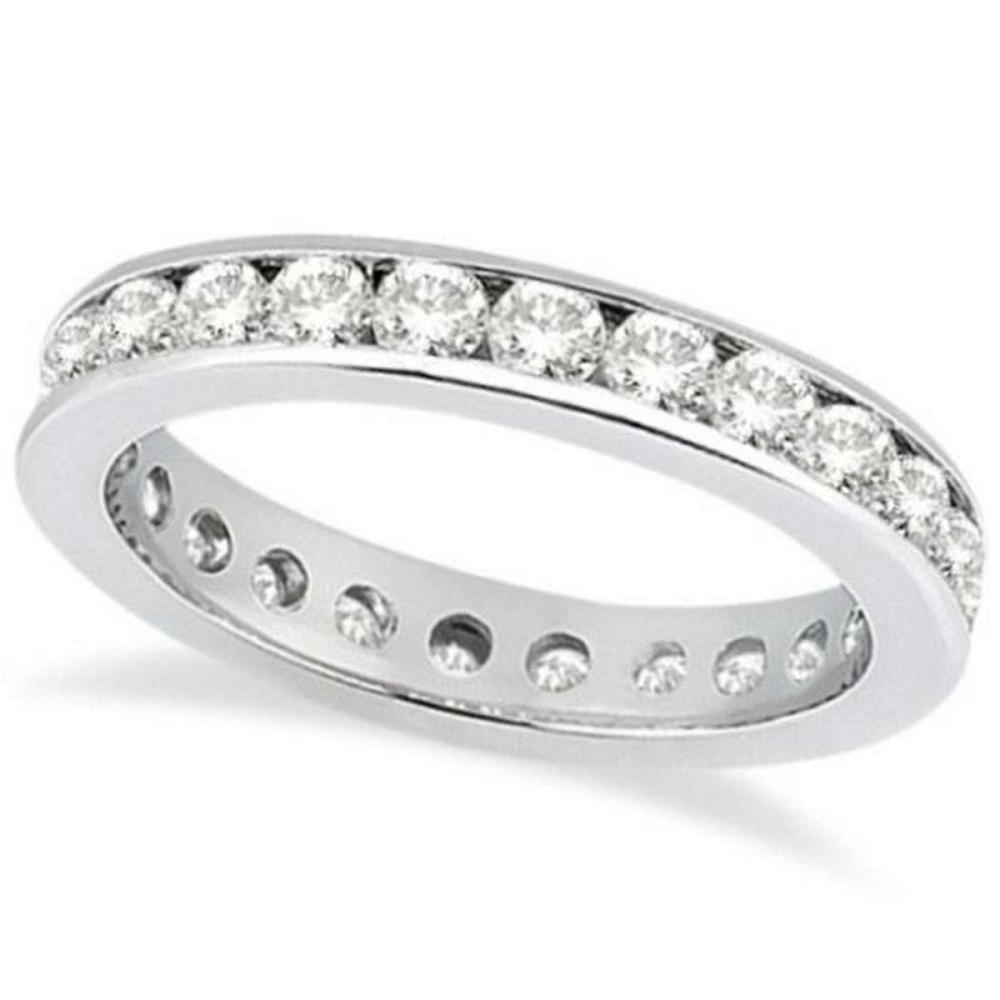 Channel-Set Diamond Eternity Ring Band in Palladium (1.75 ct) #PAPPS20866