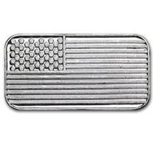 1 gram Silver Bar - American Flag #PAPPS74644