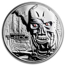 2 oz Silver Round - Terminator T-800 Proof #PAPPS74594