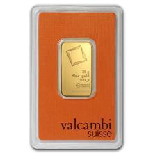 20 gram Gold Bar - Valcambi (In Assay) #PAPPS75153