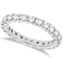 Diamond Eternity Ring Wedding Band in 14k White Gold (2.00ct) #PAPPS20426