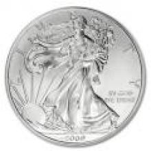 2009 Silver Eagle 1 oz Uncirculated #PAPPS96120