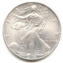 2008 Silver Eagle 1 oz Uncirculated #PAPPS96122