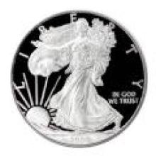Proof Silver Eagle 2008-W #PAPPS96187
