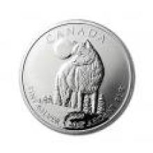 Canadian Silver 1 oz Wolf 2011 #PAPPS96508