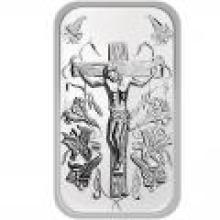 Jesus .999 Silver 1 oz Bar #PAPPS96058