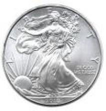 2010 Silver Eagle 1 oz Uncirculated #PAPPS96119