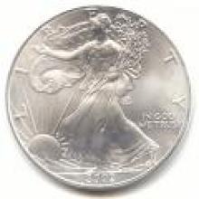 2002 Silver Eagle 1 oz Uncirculated #PAPPS96131