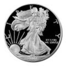 Proof Silver Eagle 2002-W #PAPPS96193