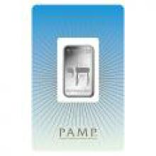 PAMP Suisse Silver Bar 10 Gram - Am Yisrael Chai #PAPPS96066