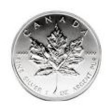 1989 Silver Maple Leaf 1 oz Uncirculated #PAPPS96482