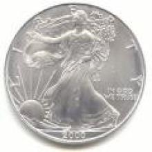 2000 Silver Eagle 1 oz Uncirculated #PAPPS96128
