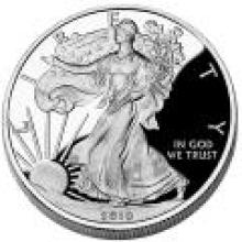 Proof Silver Eagle 2010-W #PAPPS96186