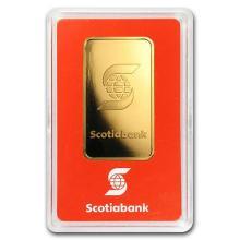 1 oz Gold Bar - Scotiabank #75215v3