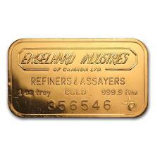 1 oz Gold Bar - Engelhard Industries of Canada #75247v3