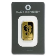 20 gram Gold Bar - Rand Elephant Mirage (In Assay) #75212v3