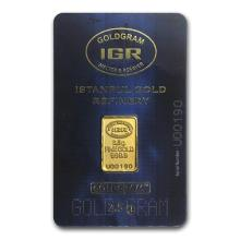 2.5 gram Gold Bar - Istanbul Gold Refinery (In Assay) #75180v3