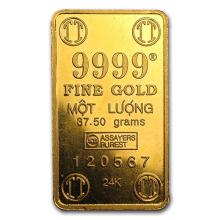 37.5 gram Gold Bar - Secondary Market #75251v3