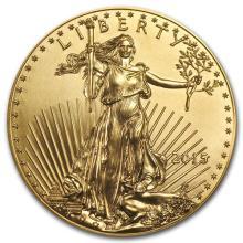 2015 1 oz Gold American Eagle BU #75274v3