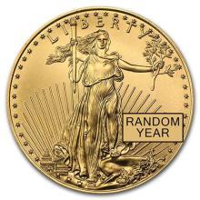 1/2 oz Gold American Eagle BU (Random Year) #75269v3