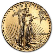 1986 1 oz Gold American Eagle BU (MCMLXXXVI) #75280v3