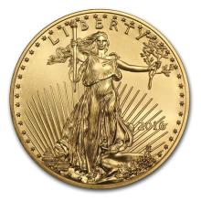 2016 1/10 oz Gold American Eagle BU #75266v3
