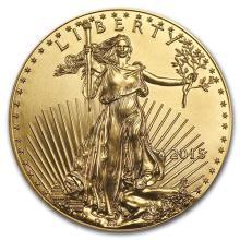 2015 1/10 oz Gold American Eagle BU #75273v3