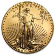 2007 1 oz Gold American Eagle BU #75282v3