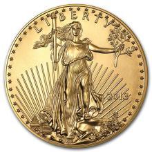 2013 1 oz Gold American Eagle BU #75278v3