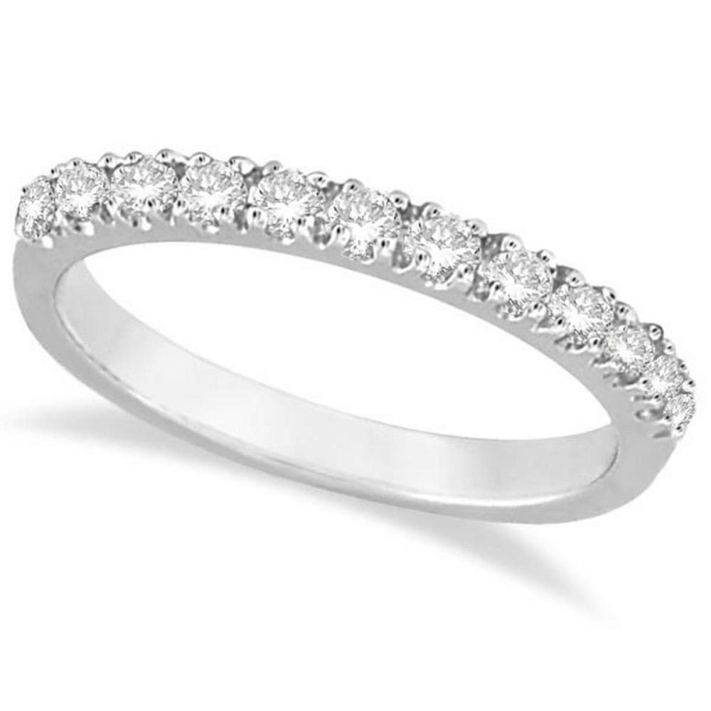 Diamond Stackable Ring Anniversary Band in 14k White Gold (0.25ct) #PAPPS20540
