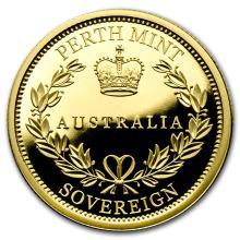 2016 Australia Gold Sovereign Proof #31052v3