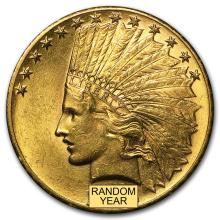 $10 Indian Gold Eagle BU (Random Year) #31070v3