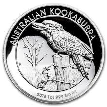 2016 Australia 1 oz Silver Kookaburra Proof (High Relief) #31053v3