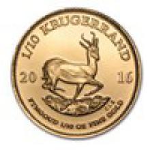 2016 South Africa 1/10 oz Gold Krugerrand #PAPPS93287