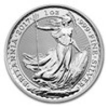 2017 Great Britain 1 oz Silver Britannia BU #PAPPS93305