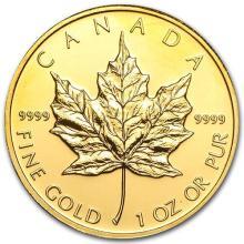 2010 Canada 1 oz Gold Maple Leaf BU #75448v3