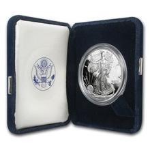 1996-P 1 oz Proof Silver American Eagle (w/Box & COA) #74977v3