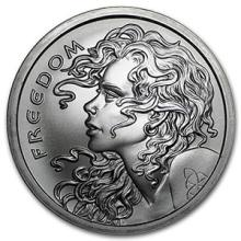 2016 2 oz Silver Shield Round - Freedom Girl #74510v3