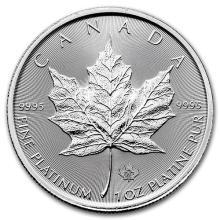 2016 Canada 1 oz Platinum Maple Leaf BU #75632v3