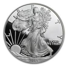2014-W 1 oz Proof Silver American Eagle (w/Box & COA) #74972v3