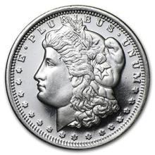 1/2 oz Silver Round - Morgan Dollar Design #74486v3