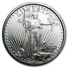 1 oz Silver Round - Saint-Gaudens #74471v3