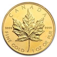 2011 Canada 1 oz Gold Maple Leaf BU #75451v3
