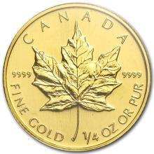 2008 Canada 1/4 oz Gold Maple Leaf BU #75461v3